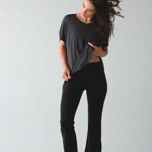Lululemon Groove Flare Leggings Black 6 Pants
